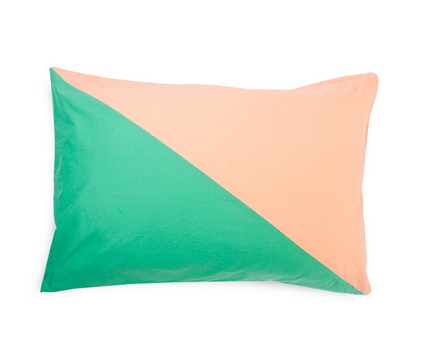 Diagonal pillow case,  $49