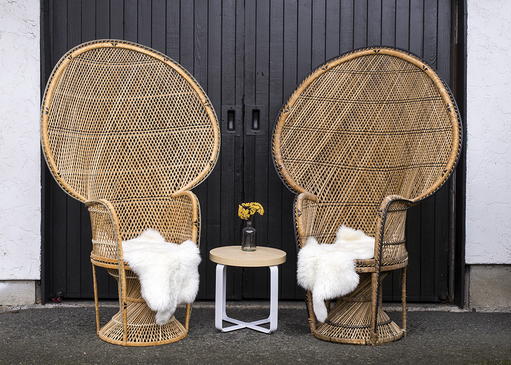 LOTTIE PEACOCK CHAIRS