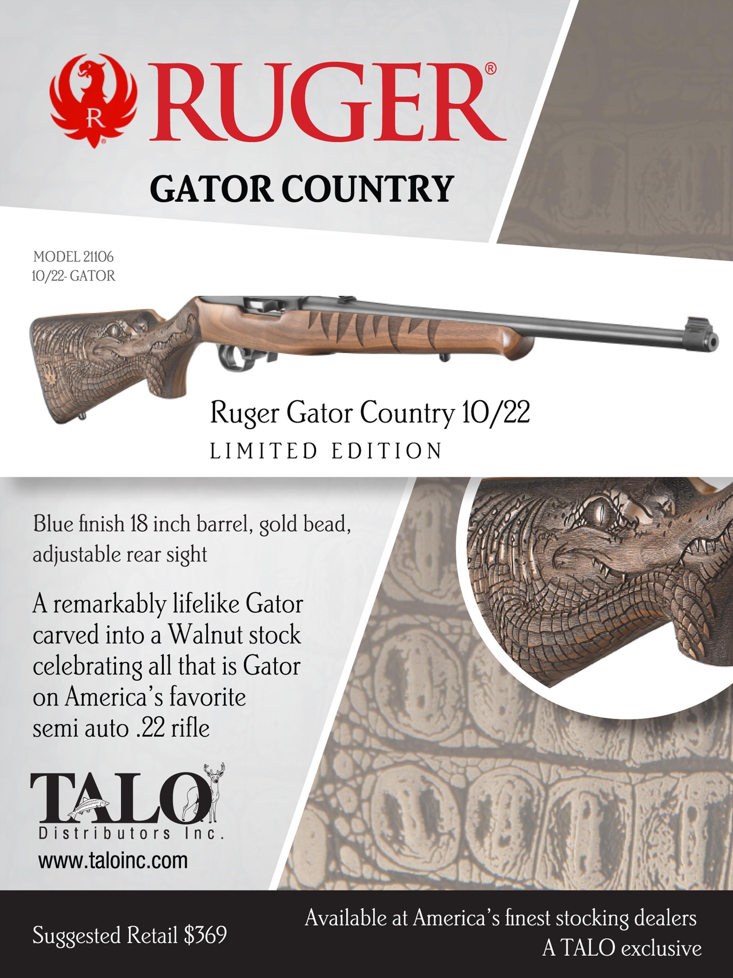 Ruger 21106  Gator