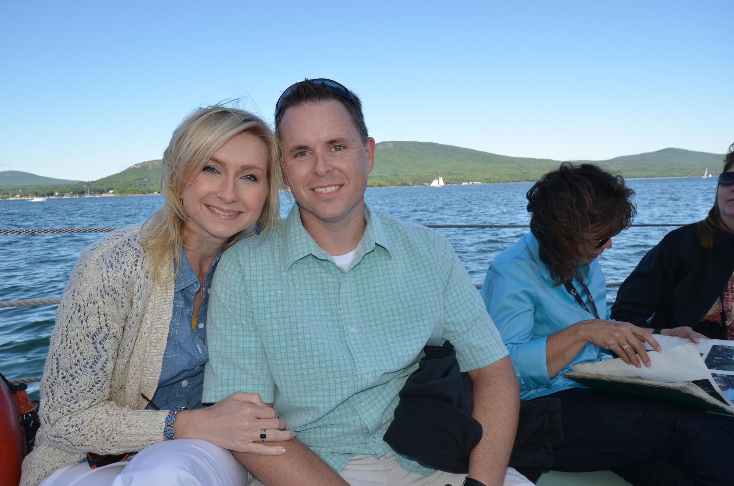 Jason & Amanda in Maine