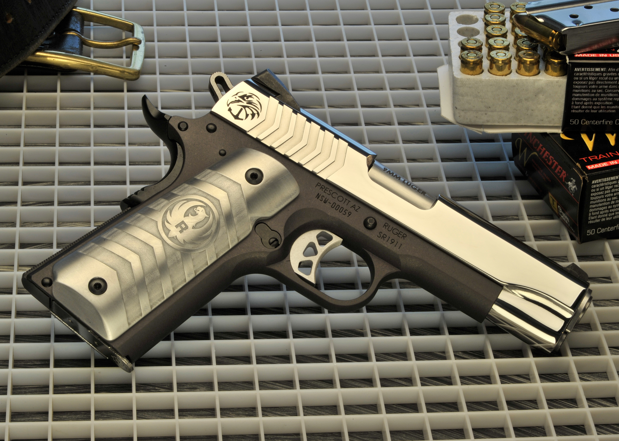 Ruger Naval Special Warfare Commander 9mm