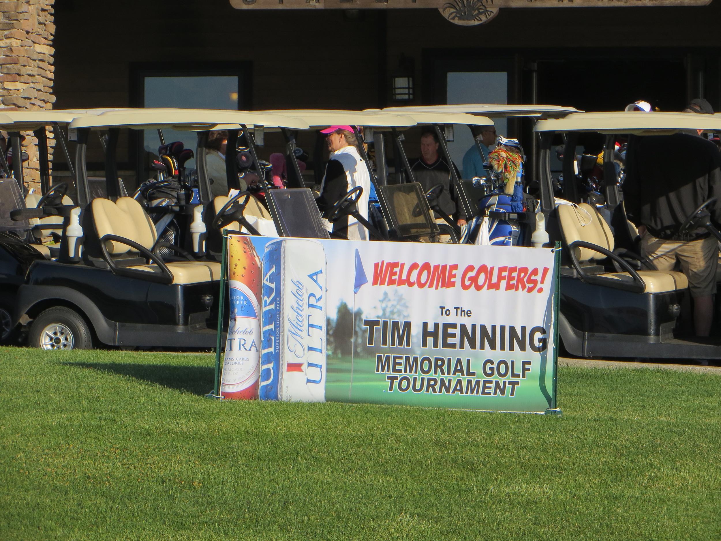2014 Tim Henning Memorial Golf Tournament