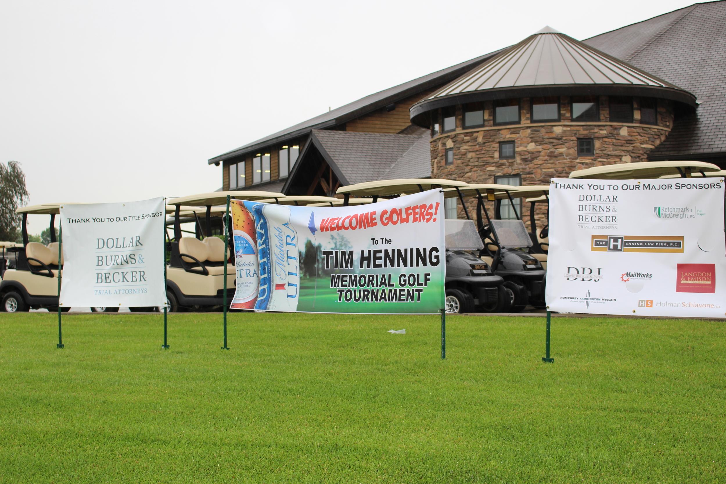 2015 Tim Henning Memorial Golf Tournament