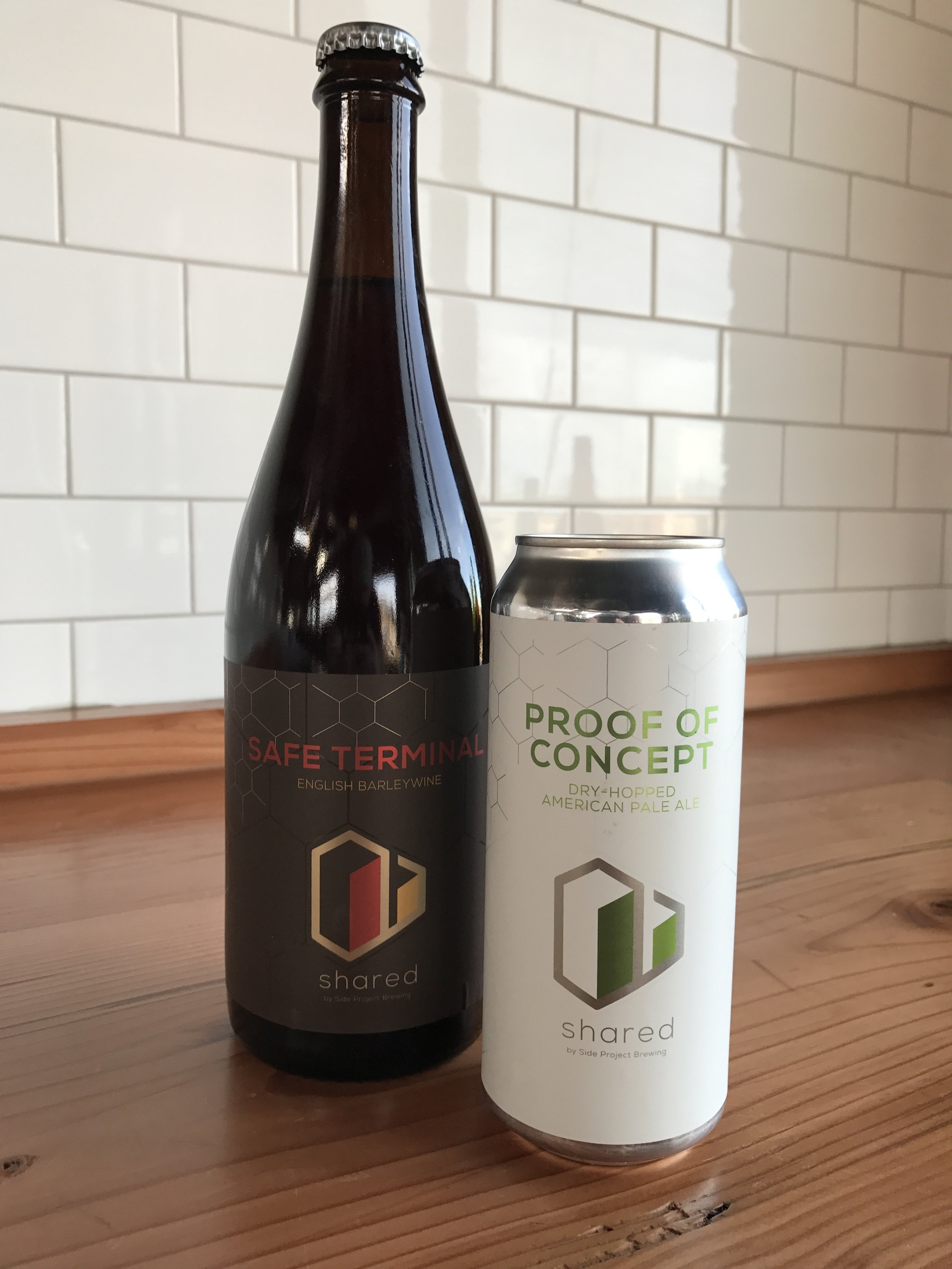Shared Safe Terminal and Shared Proof of Concept #1 will be available starting at noon Saturday, Feb. 18th at Side Project Brewing (7458 Manchester Rd in Maplewood).