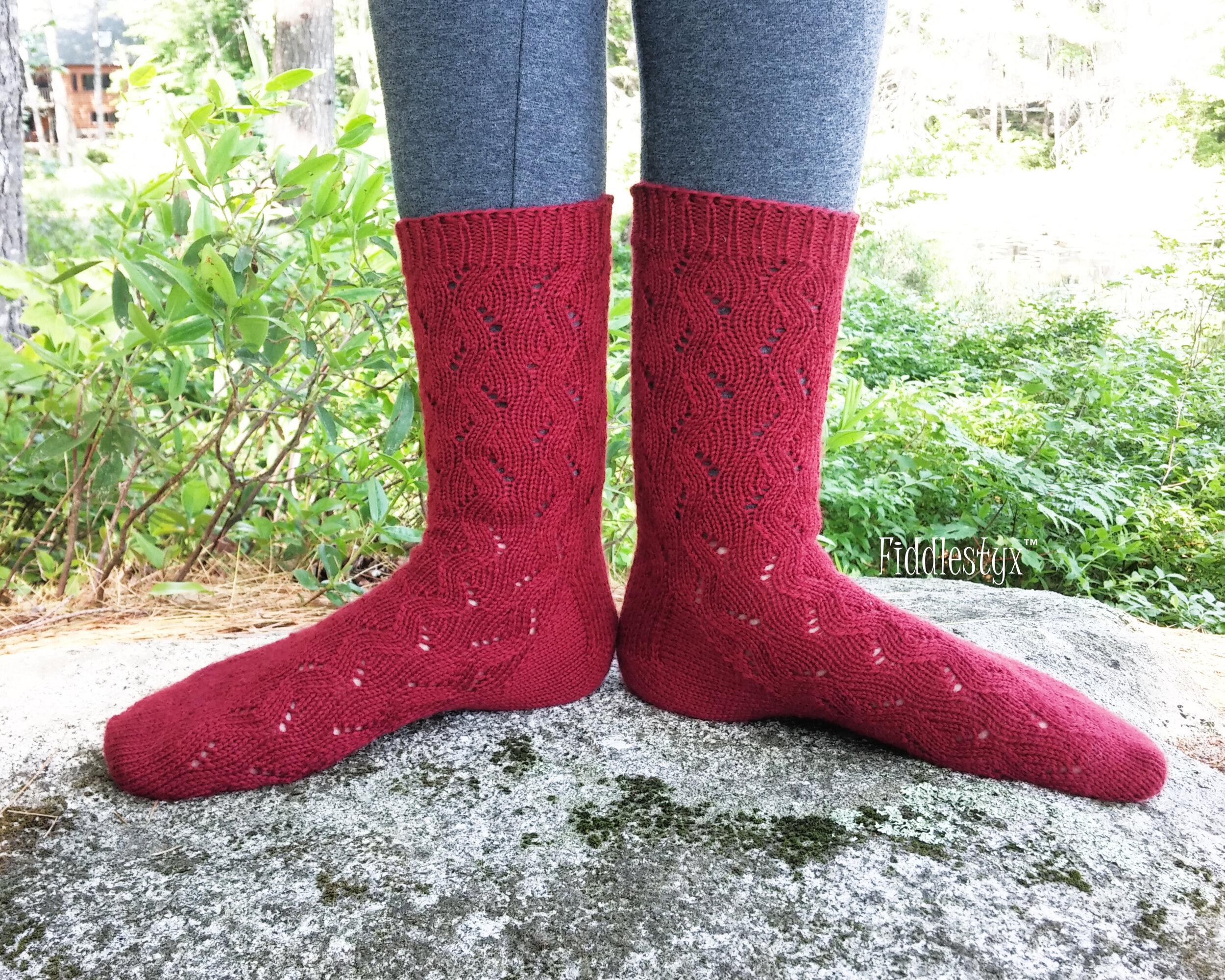 Halfmoon Lake Socks