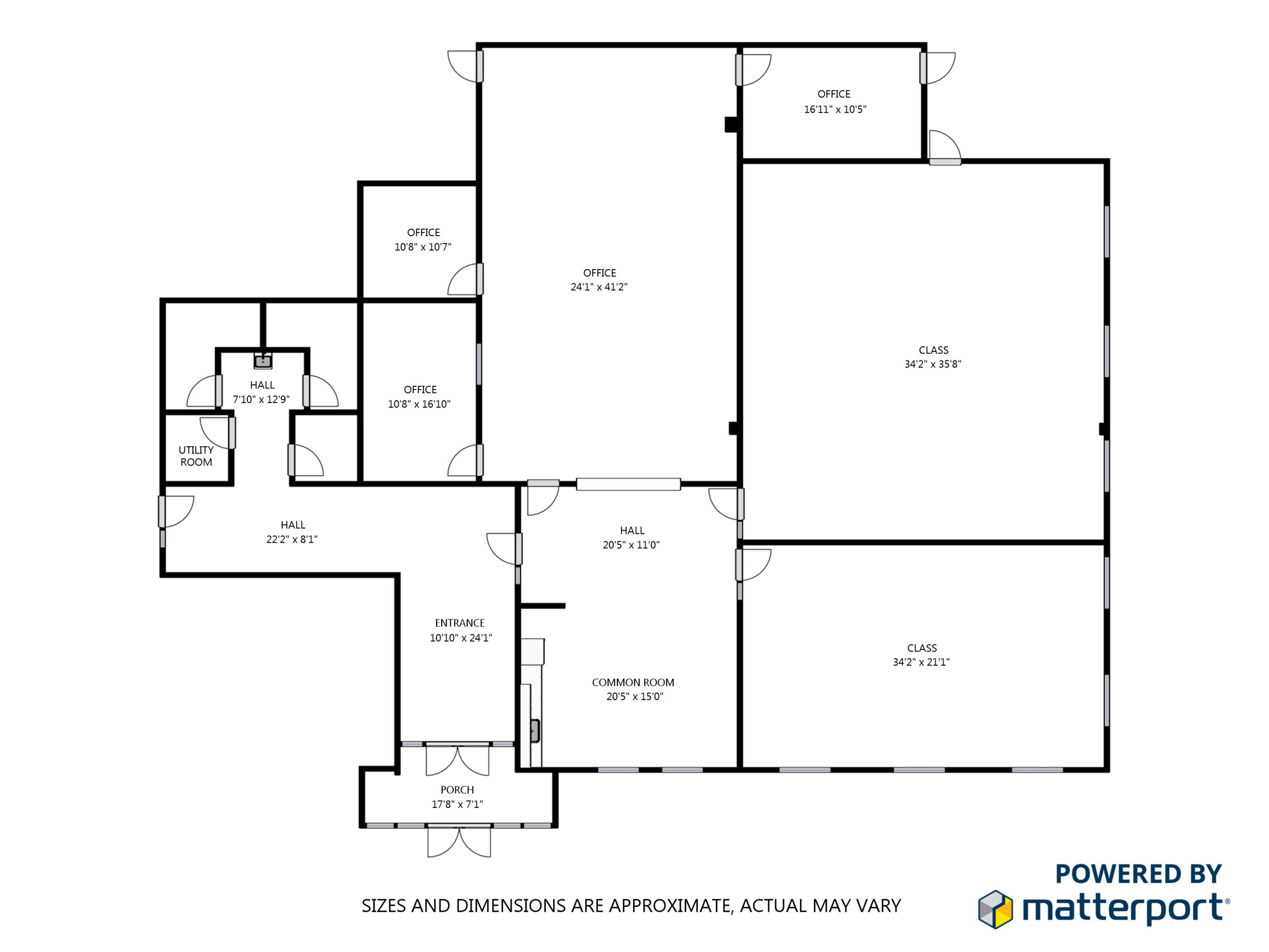 Office & Classroom - Floorplan