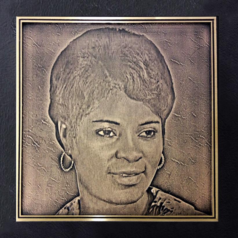 Cast Bronze Portrait - Photo Portrait - Masterwork Plaques