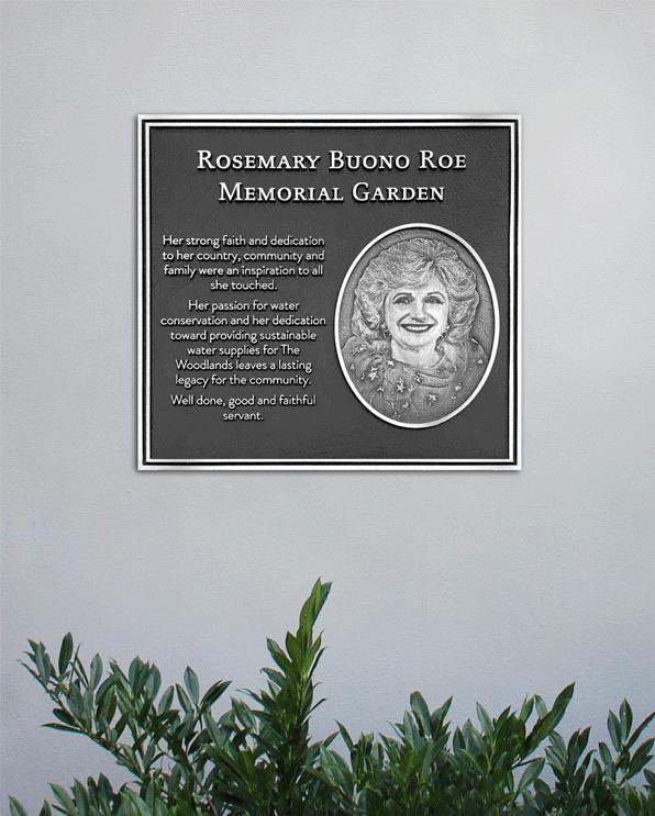 Cast Bronze Garden Plaque - Portrait Plaque - Masterwork Plaques