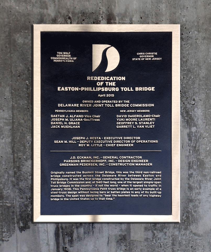 masterwork-plaques-military-insignia-memorials-East-Phillipsburg-Toll-Bridge.png