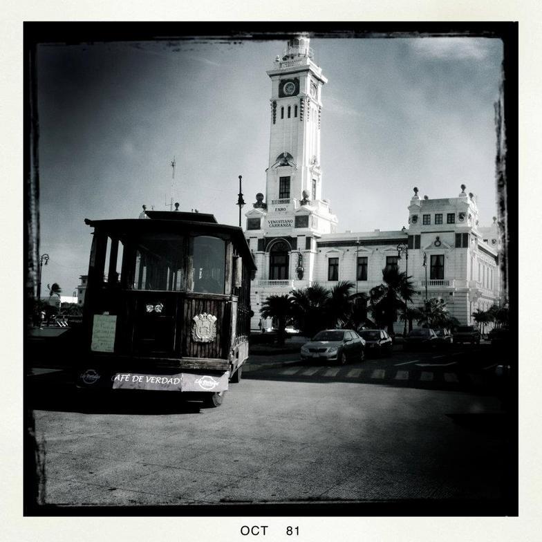 Vintage photo of Veracruz city - October 1981