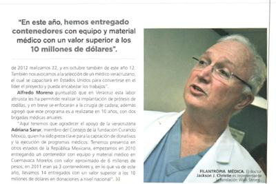 Veracruz Newspaper Article