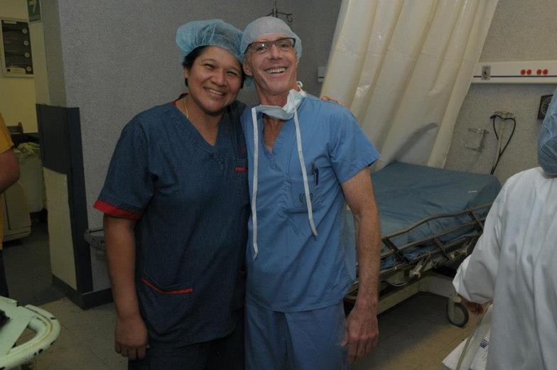 Dr. Vidal, Anesthesia