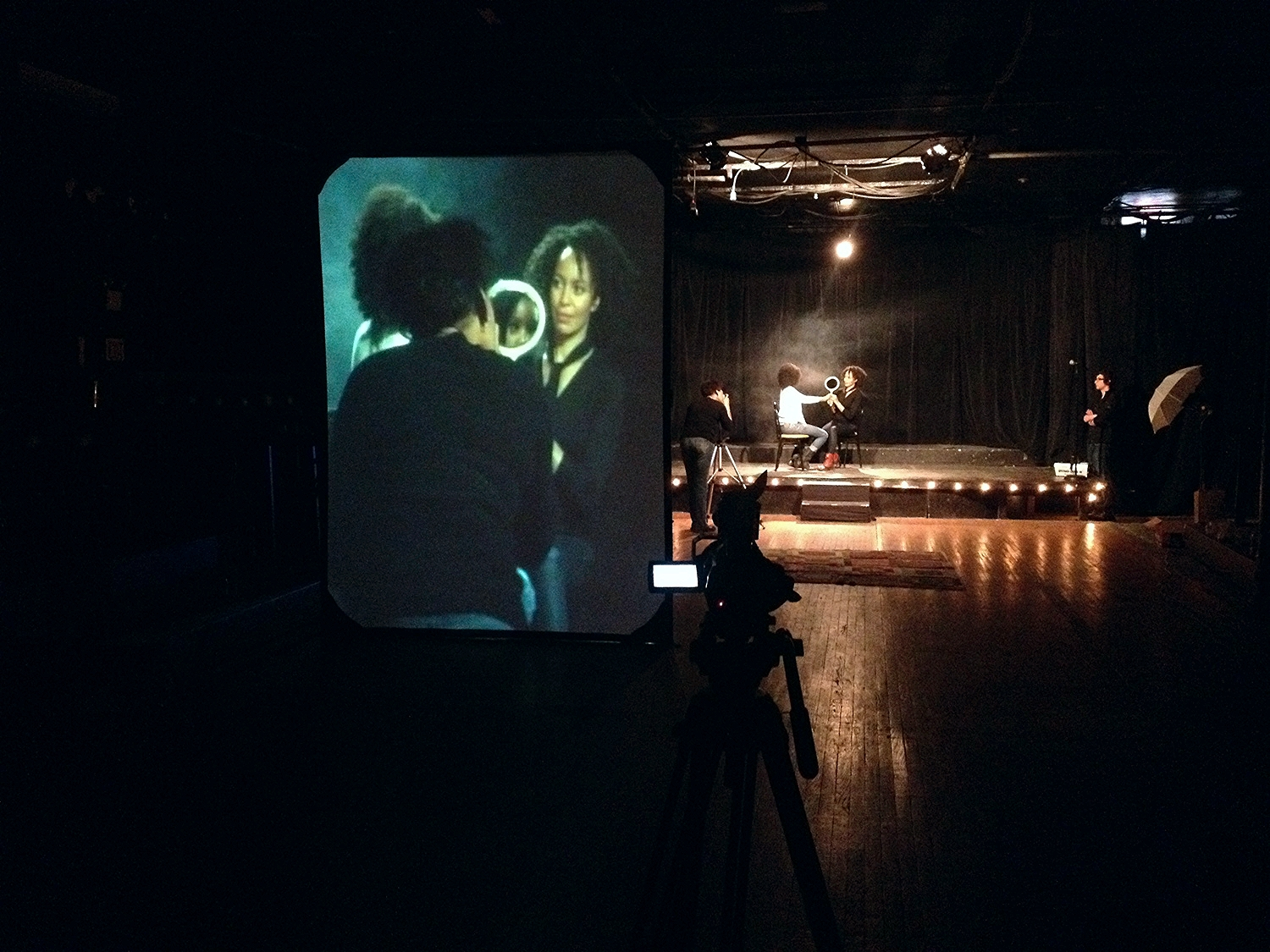 Behind the Scenes, shooting with Carrie Mae Weems