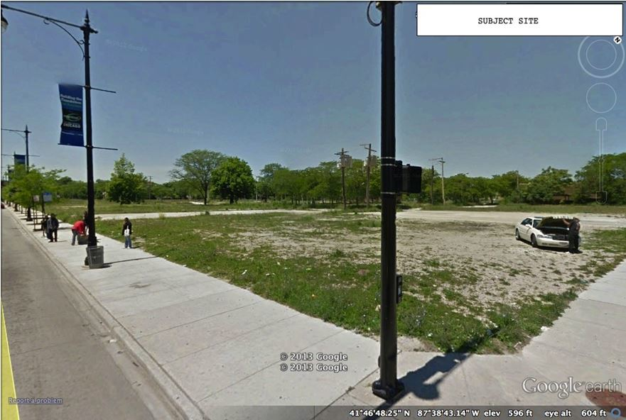 63rd & Halsted - Project Site 2013
