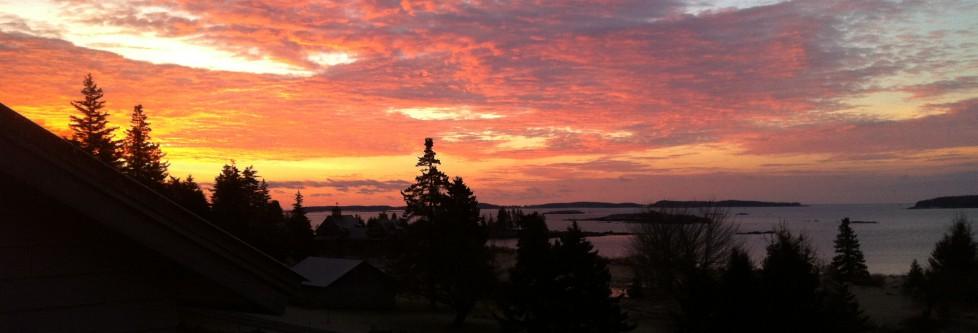 Sunrise at 26 Split Rock Cove