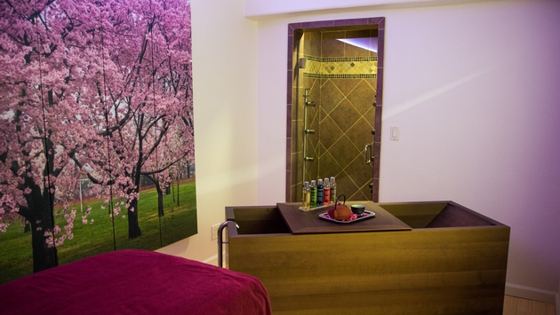 PHOTO: Cinq Mondes Spa. (photo courtesy of Cinq Mondes Spa)