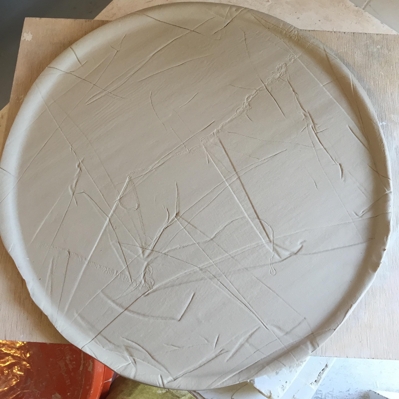Textura de textil en crudo