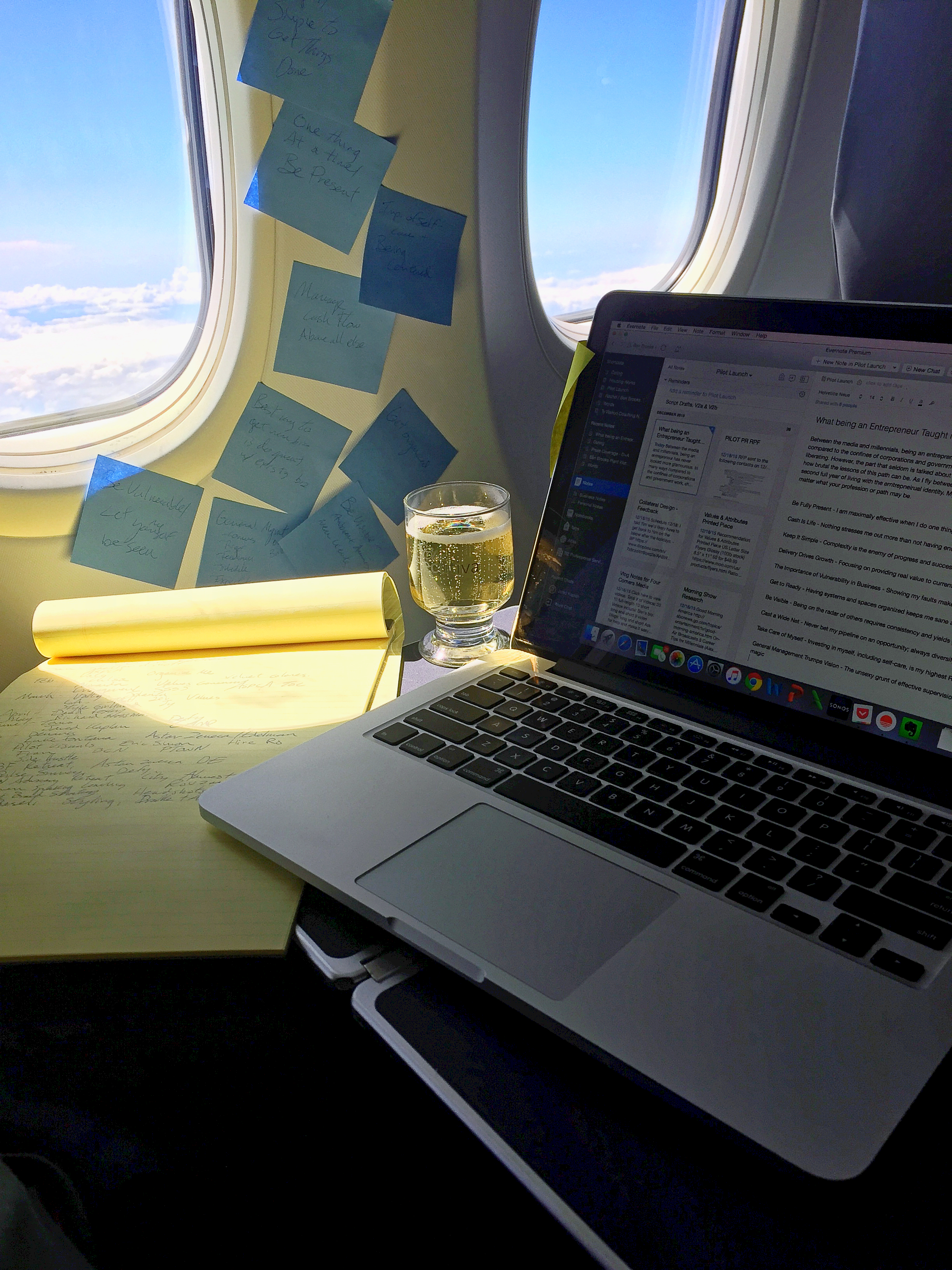 Drafting this post on my Copa Airlines flight from Panama City --> Mexico City on 28 December 2015