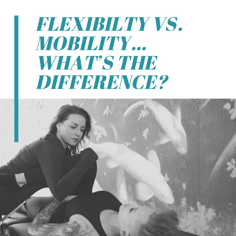 You can't have MOBILITY without FLEXIBILITY… & vice versa. - Dr. Erin Policelli, DPT