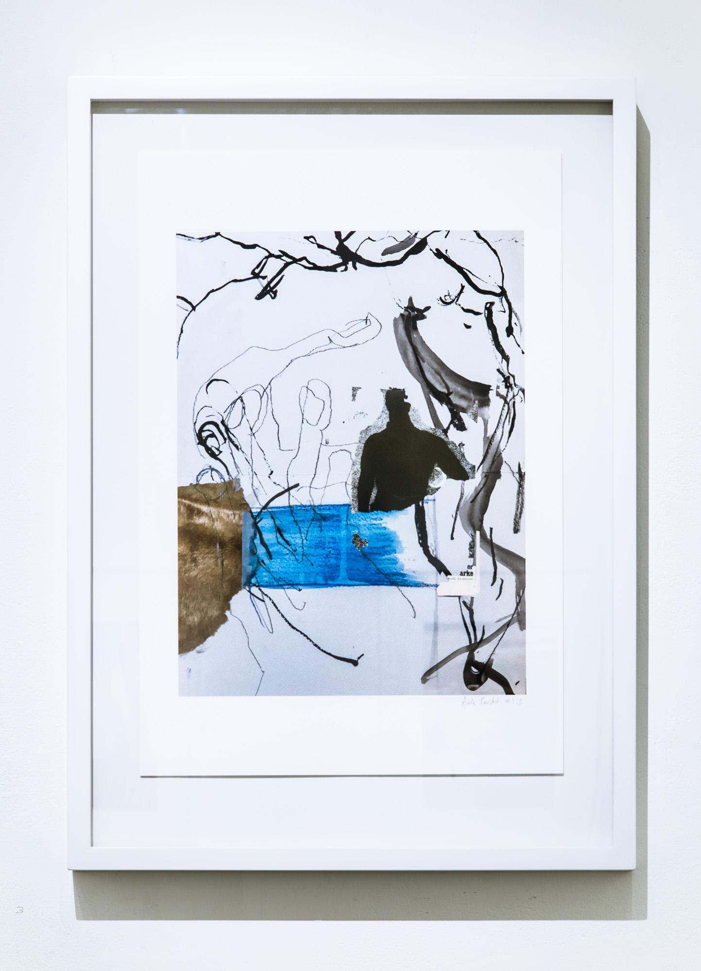 """Digital memory"", Ultra-chrome archival pigments print on aquarelle paper 44cm x 61cm, 2018, Edition of 3 +1AP"