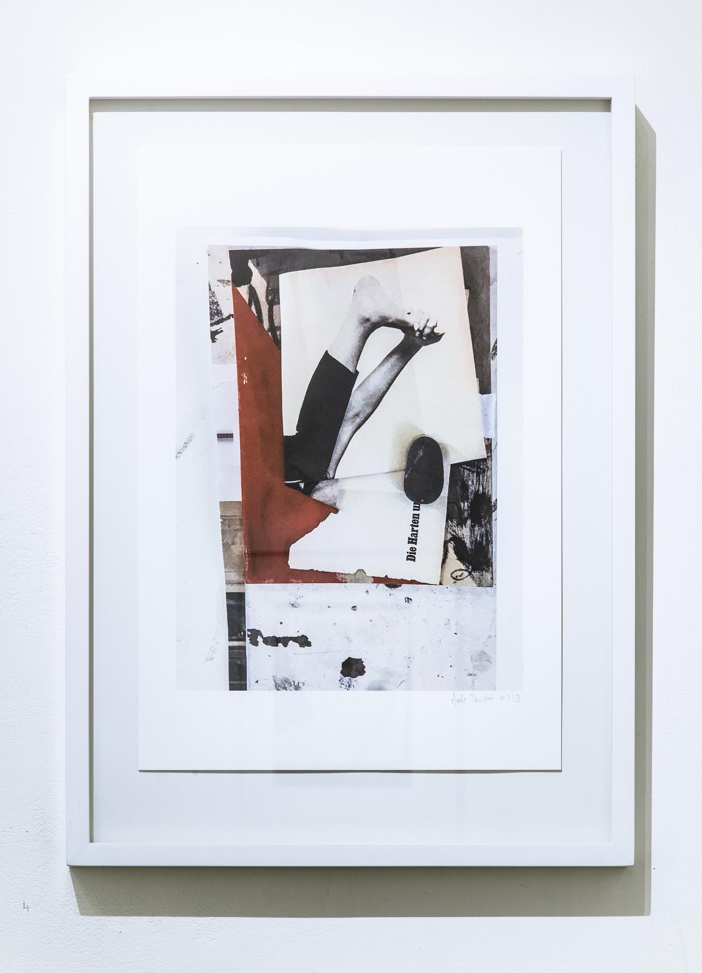 """Backbone"", Ultra-chrome archival pigments print on aquarelle paper 44cm x 61cm, 2017, Edition of 3 +1AP"