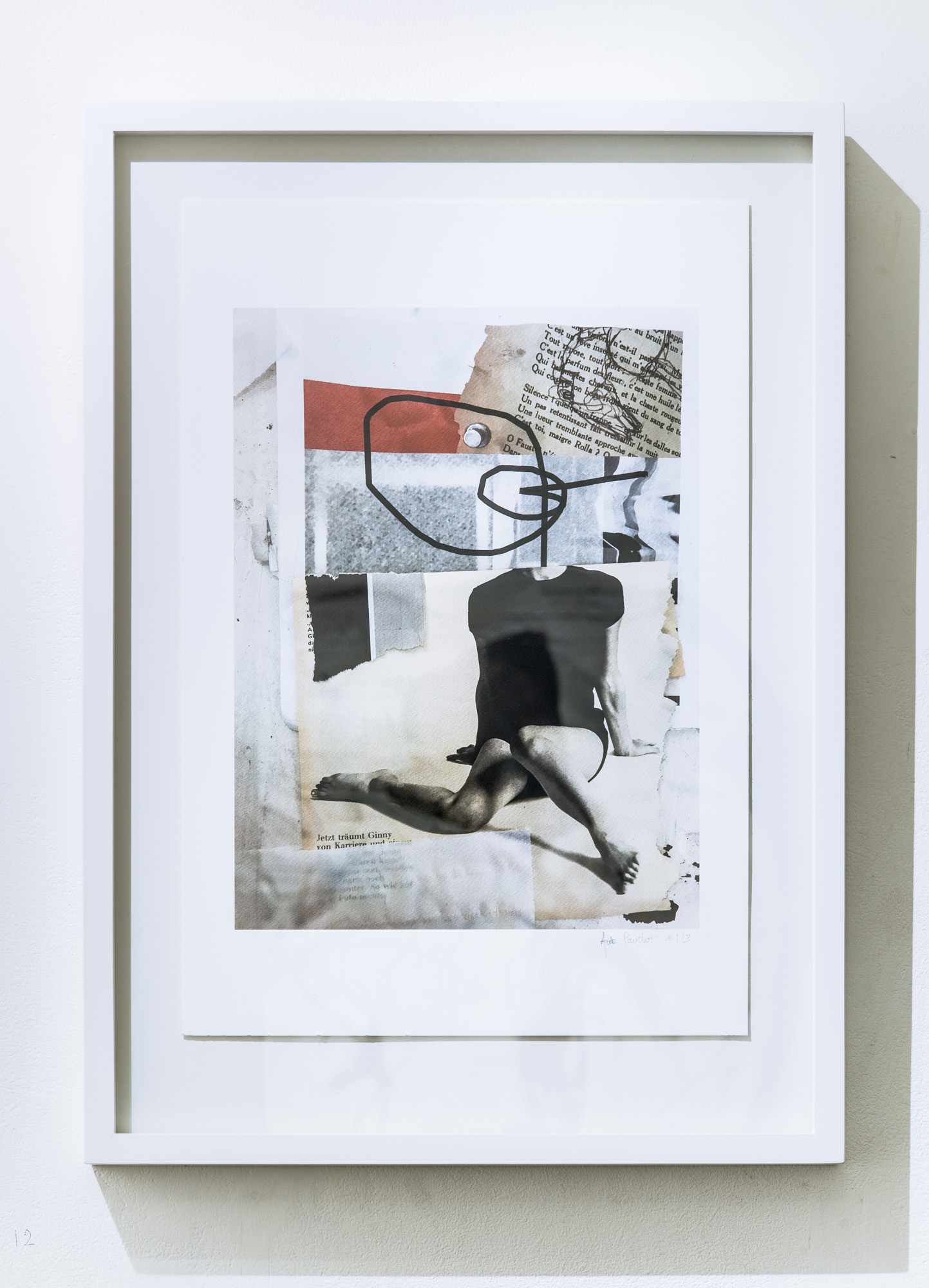 """Ginny dreams"", Ultra-chrome archival pigments print on aquarelle paper 44cm x 61cm, 2017, Edition of 3 +1AP"