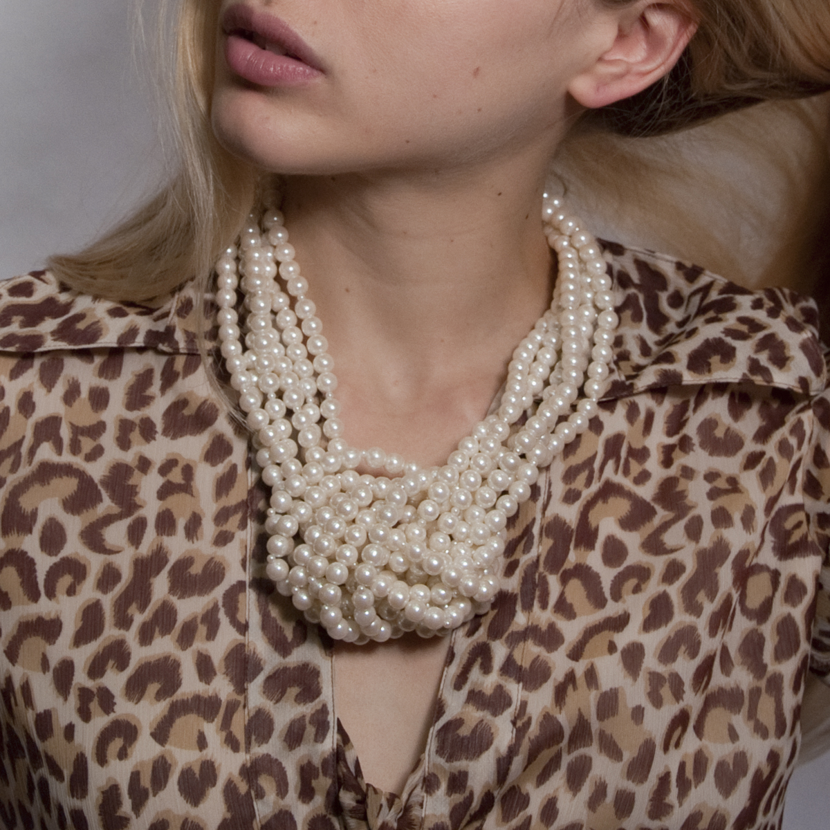 Shown above is Boyer New York's Pearl Knot Necklace.