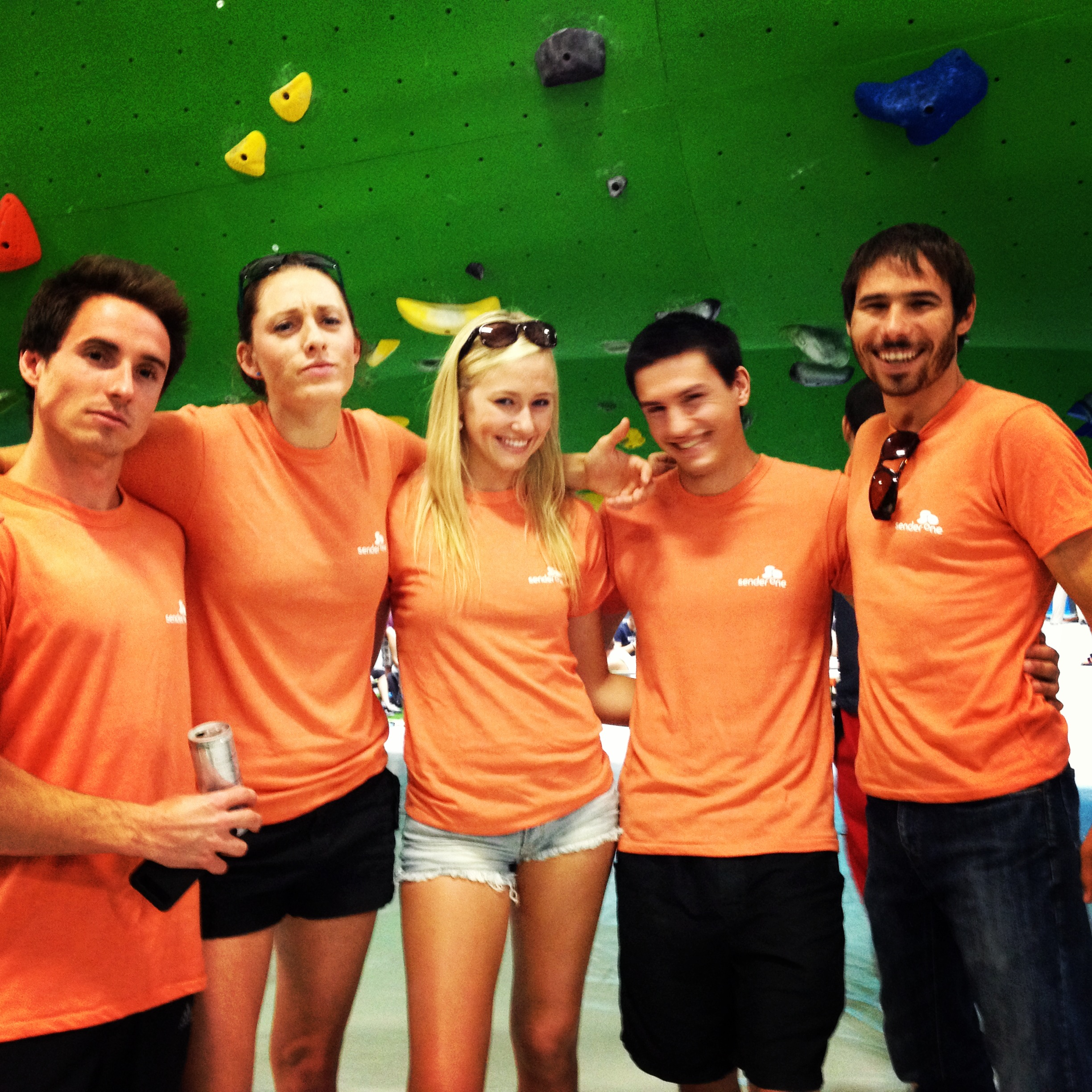 Sender One Pro Invitational, Orange Team  Carlo Traversi, Alex Johnson, Sierra Blair-Coyle, Daniel Beall, & Kevin Jorgeson