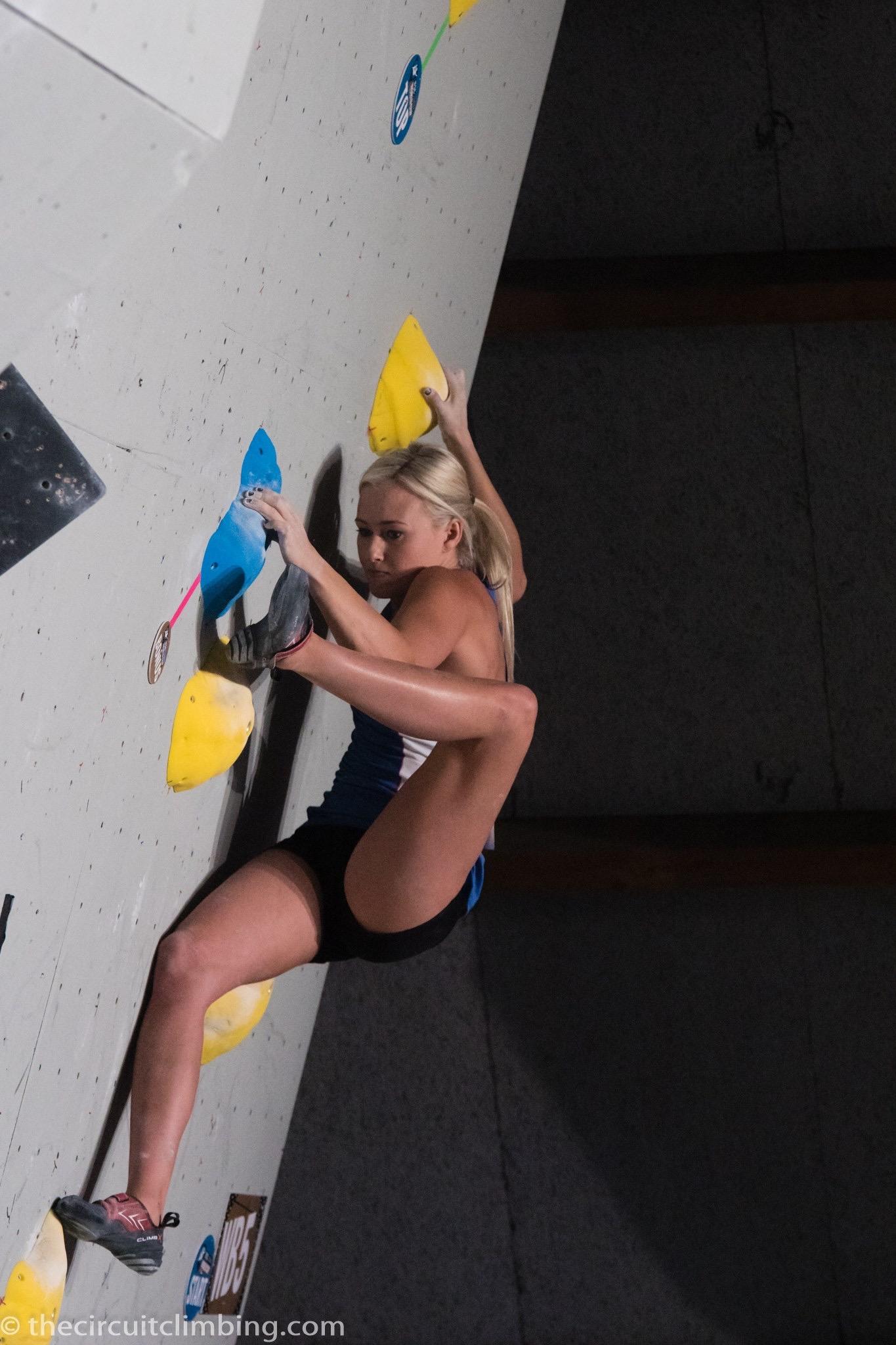 Photo: The Circuit Climbing