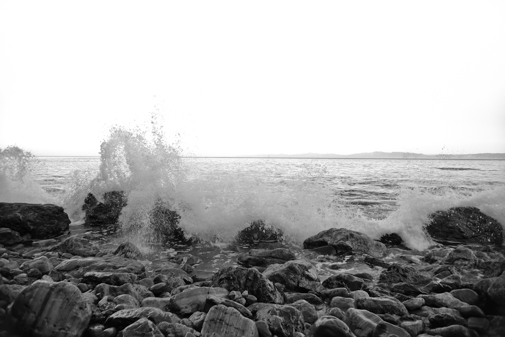 Crashing waves, spray, water, rocks, ocean...yeah...I find at one image with this background.