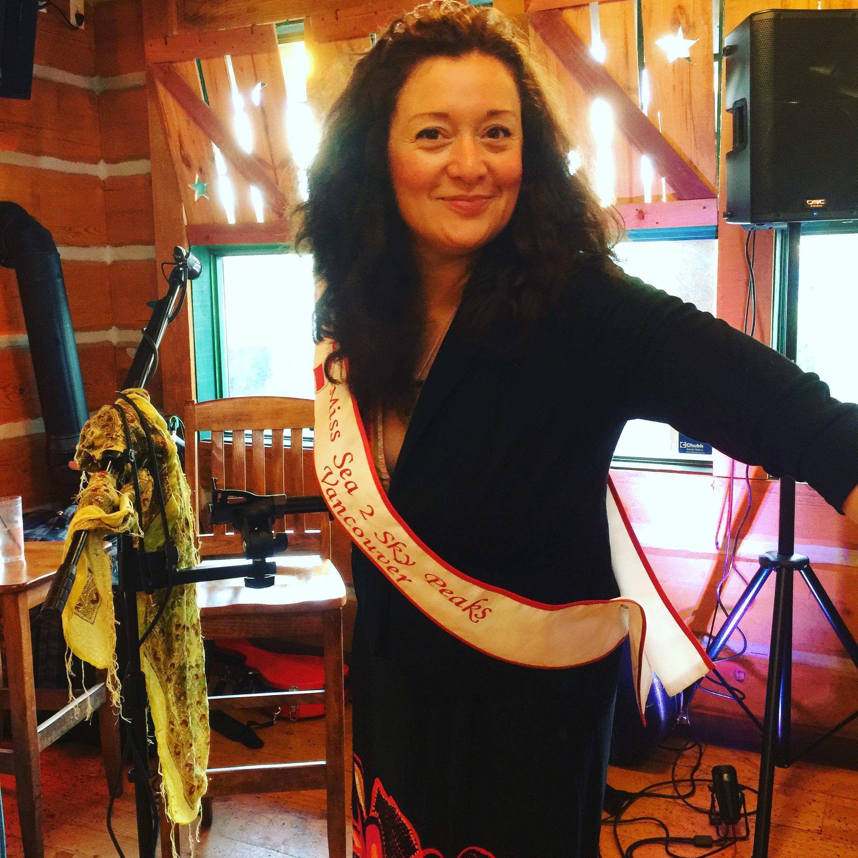 Miss Sea to Sky Peaks performing in Vancouver BC
