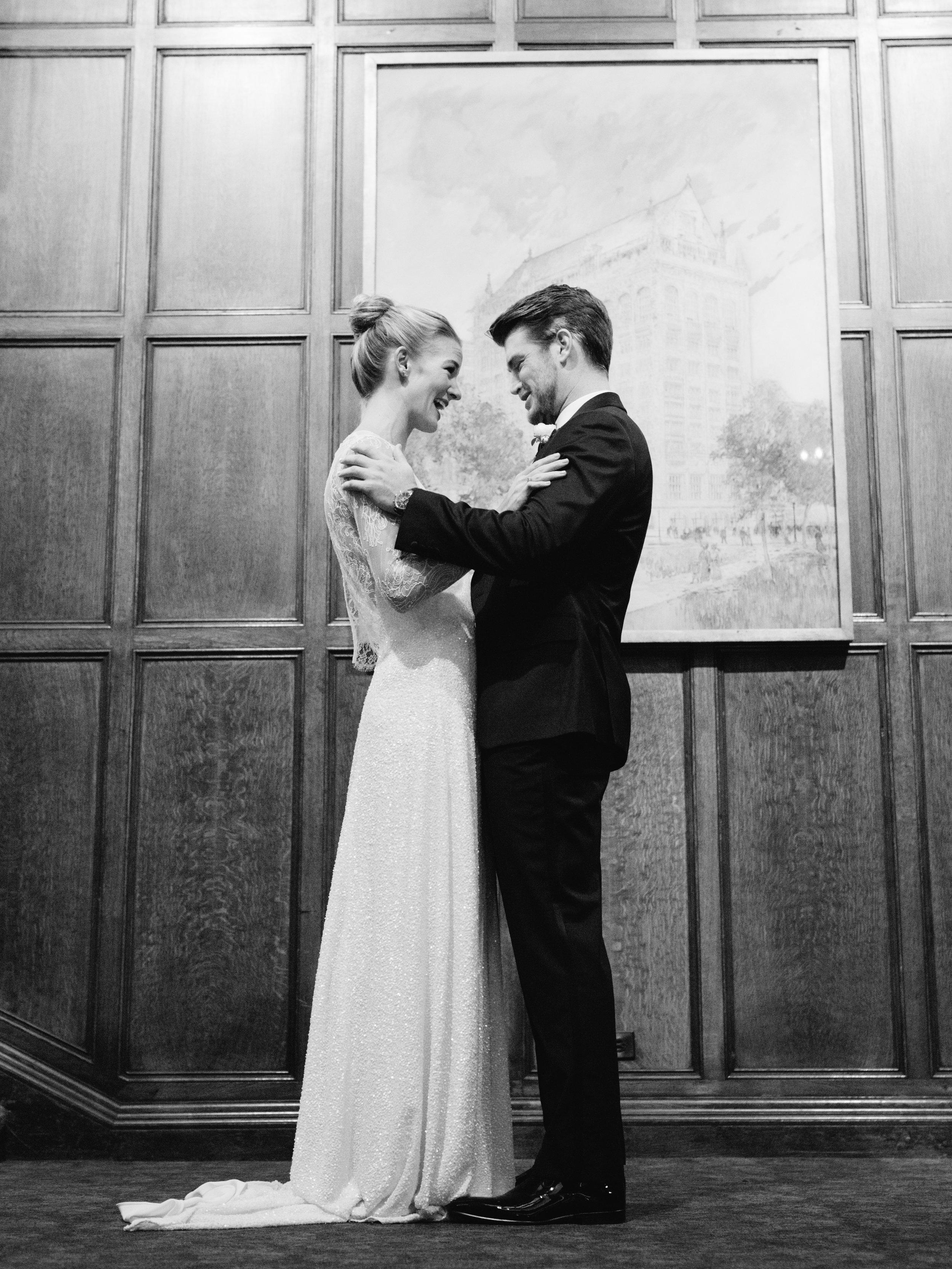 Kyle John l Fine Art Wedding Photography l Chicago, Copenhagen, California, New York, Destination l Blog l Maria and Eric_University Club of Chicago_7
