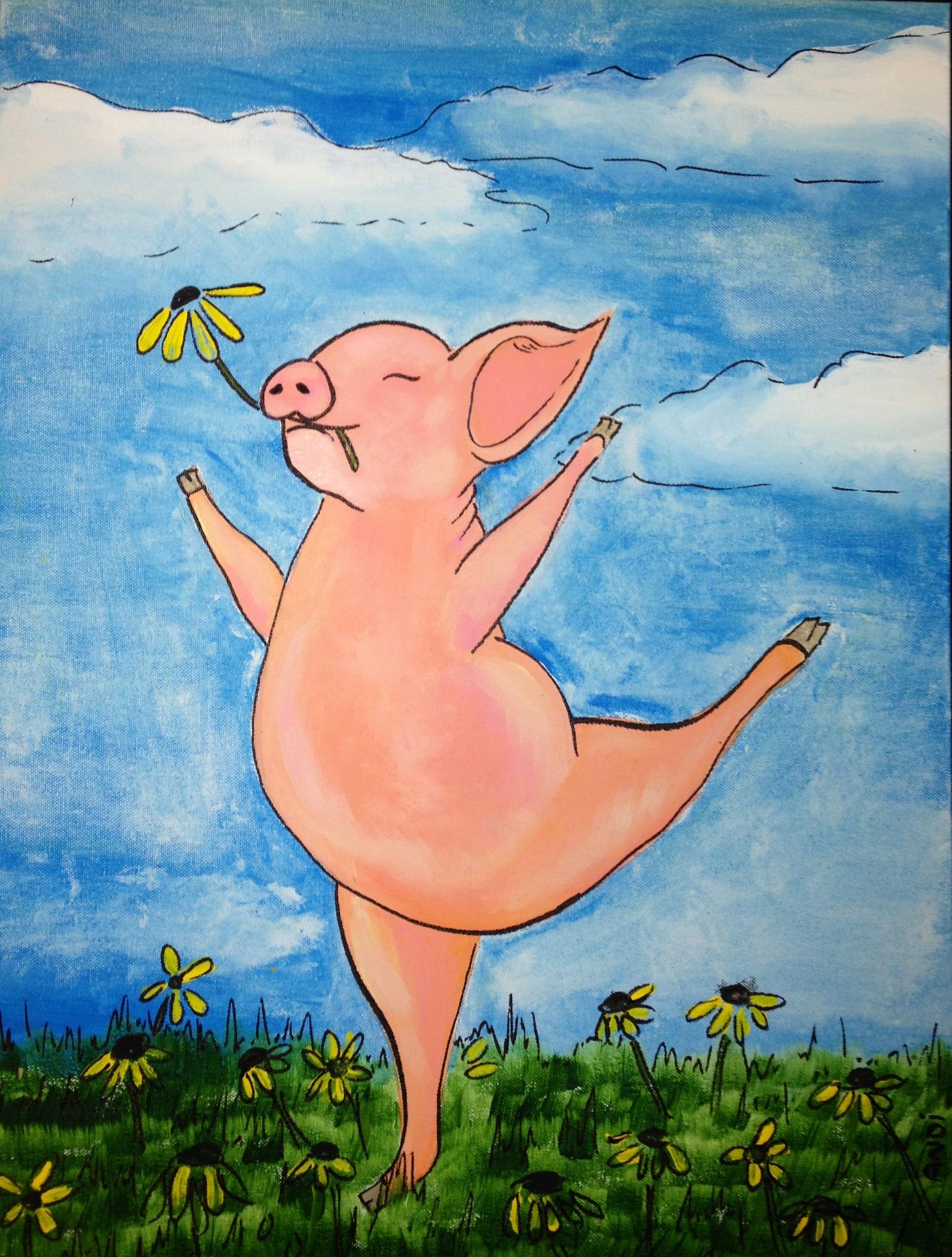 Petunia the Dancing Pig