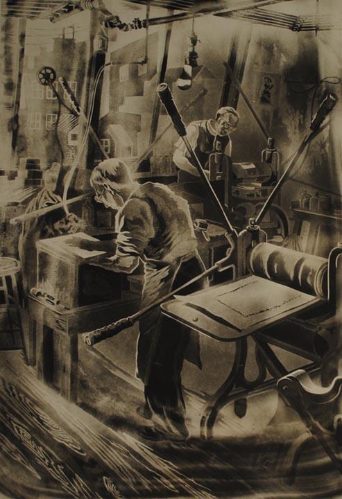 Esquirell, Printer of Etchings & Engravings, Phila.