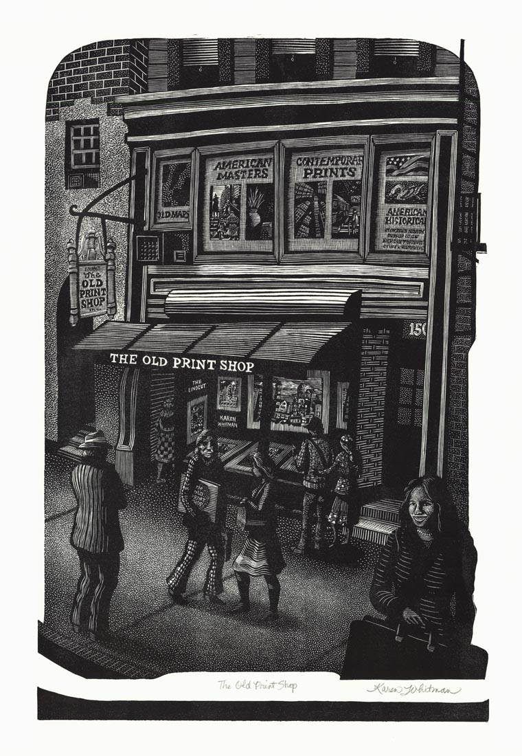 The Old Print Shop.