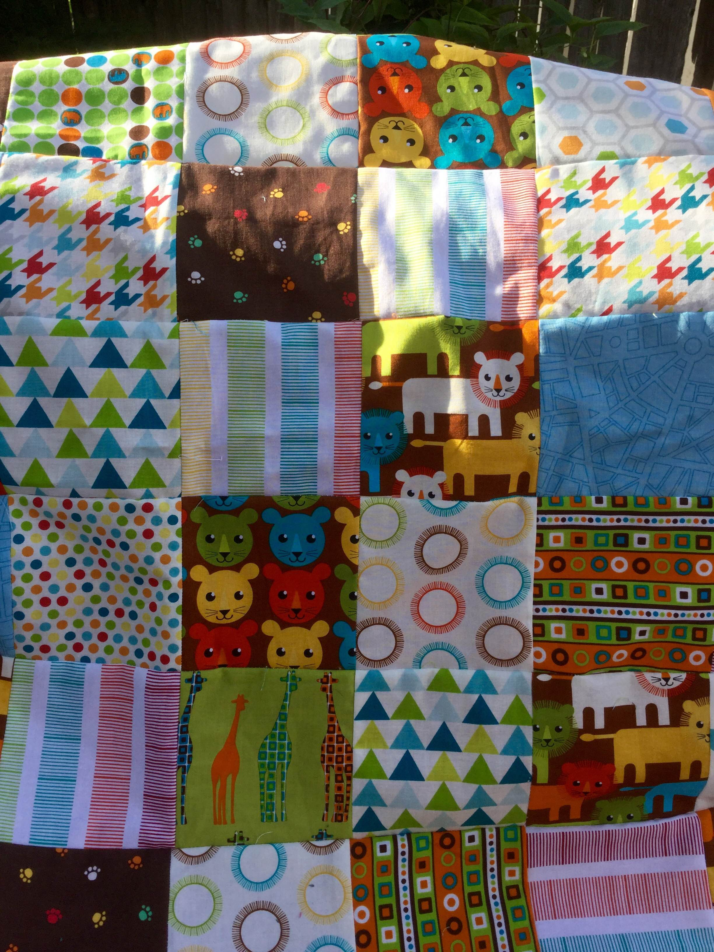 Below is a picture of the original quilt.