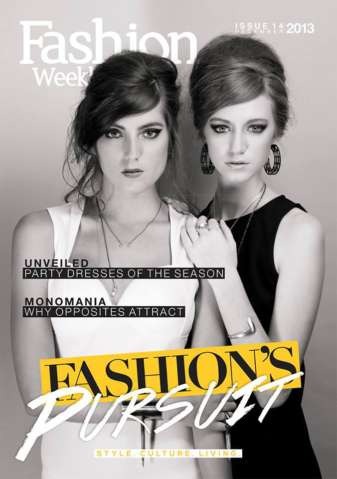 Cover shot for Fashion Weekly Magazine