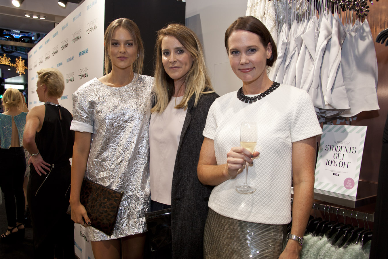 Isabella Cormish, Mandy Shardforth and Prue Thomas