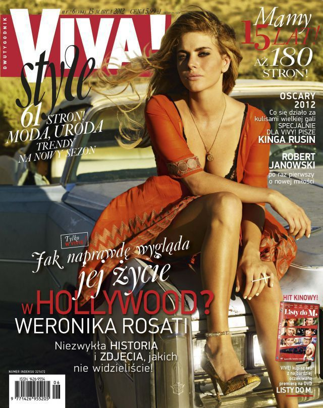 Viva Magazine  w/Weronica Rosati