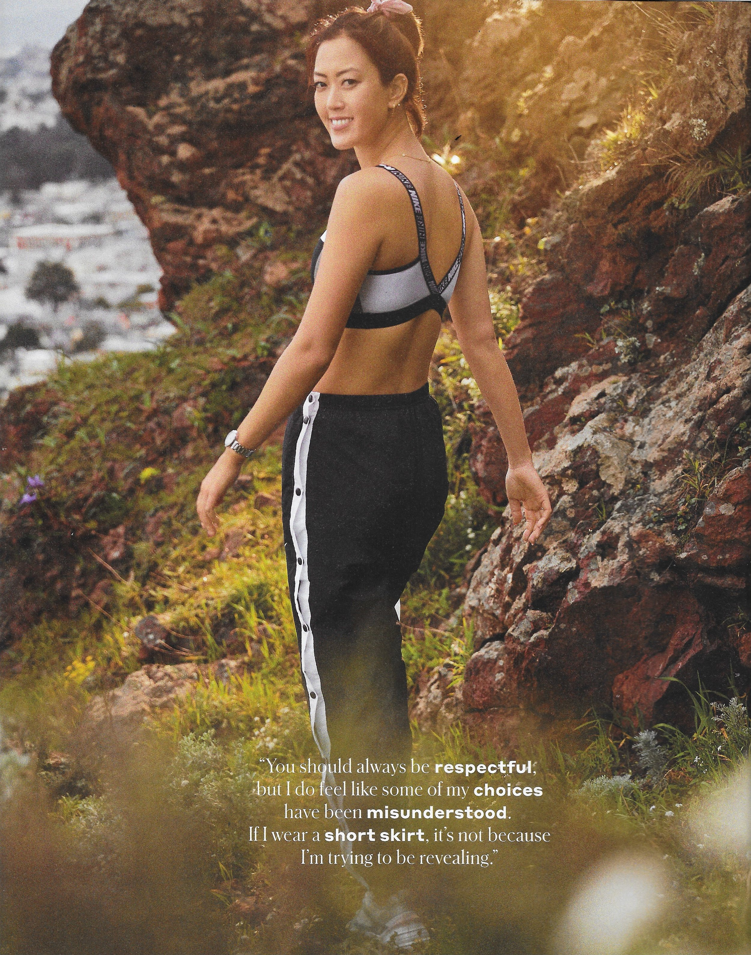 GOLF Magazine w/Michelle Wie
