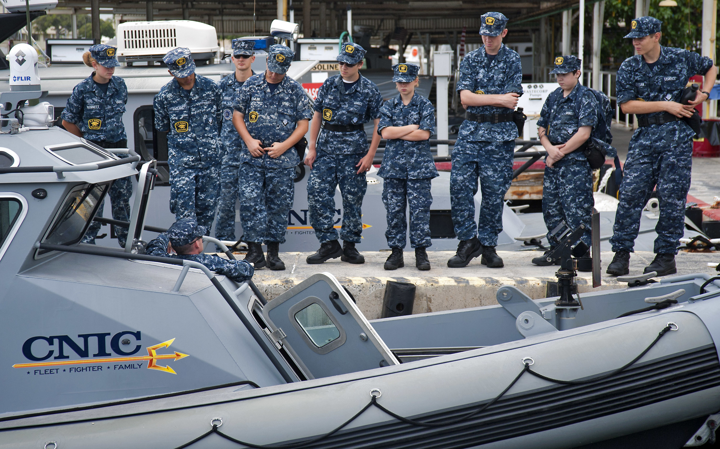 Sea Cadets training in Hawaii