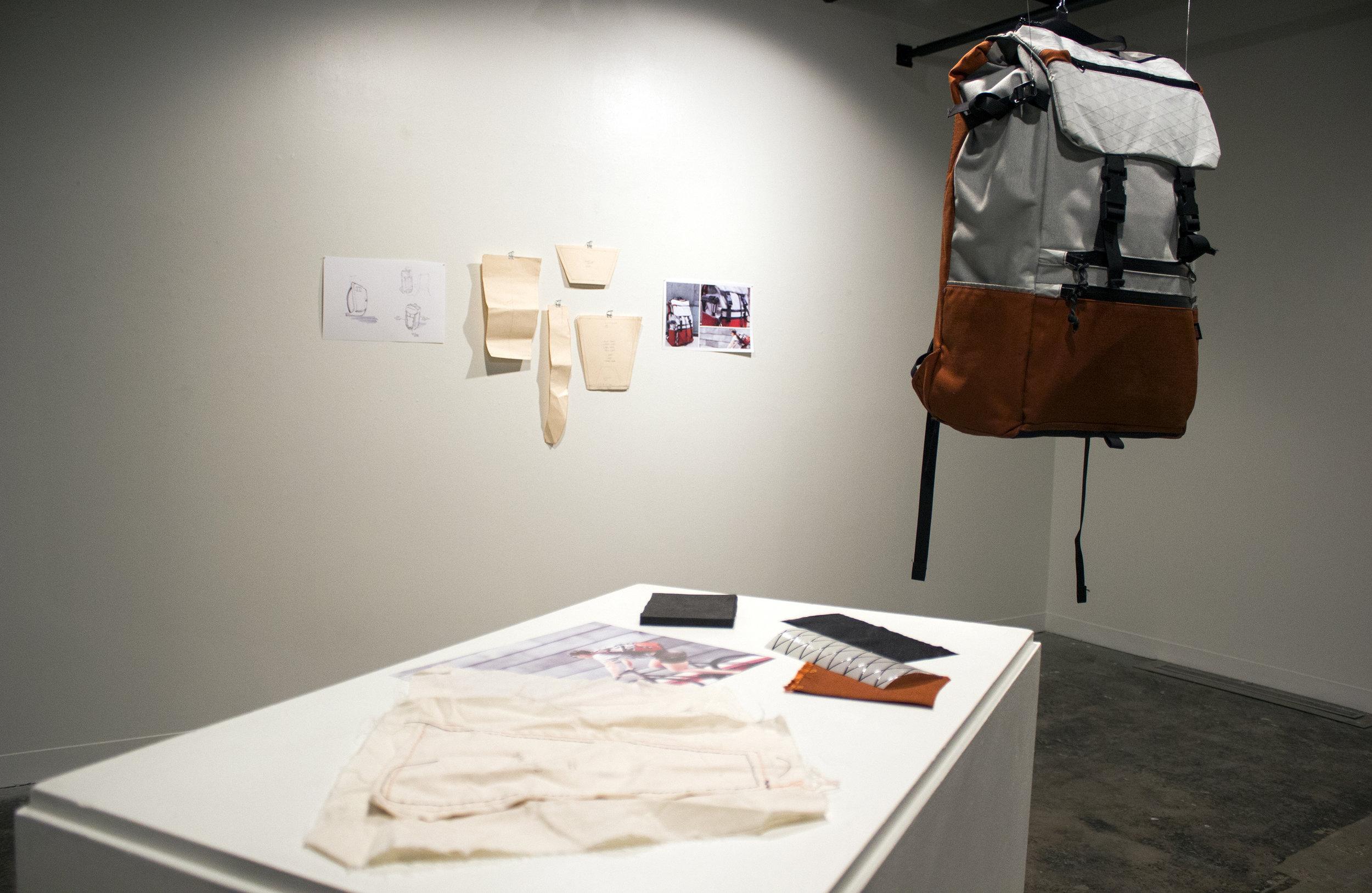 Commuter Backpack   Maddy Afshar, Industrial Designer