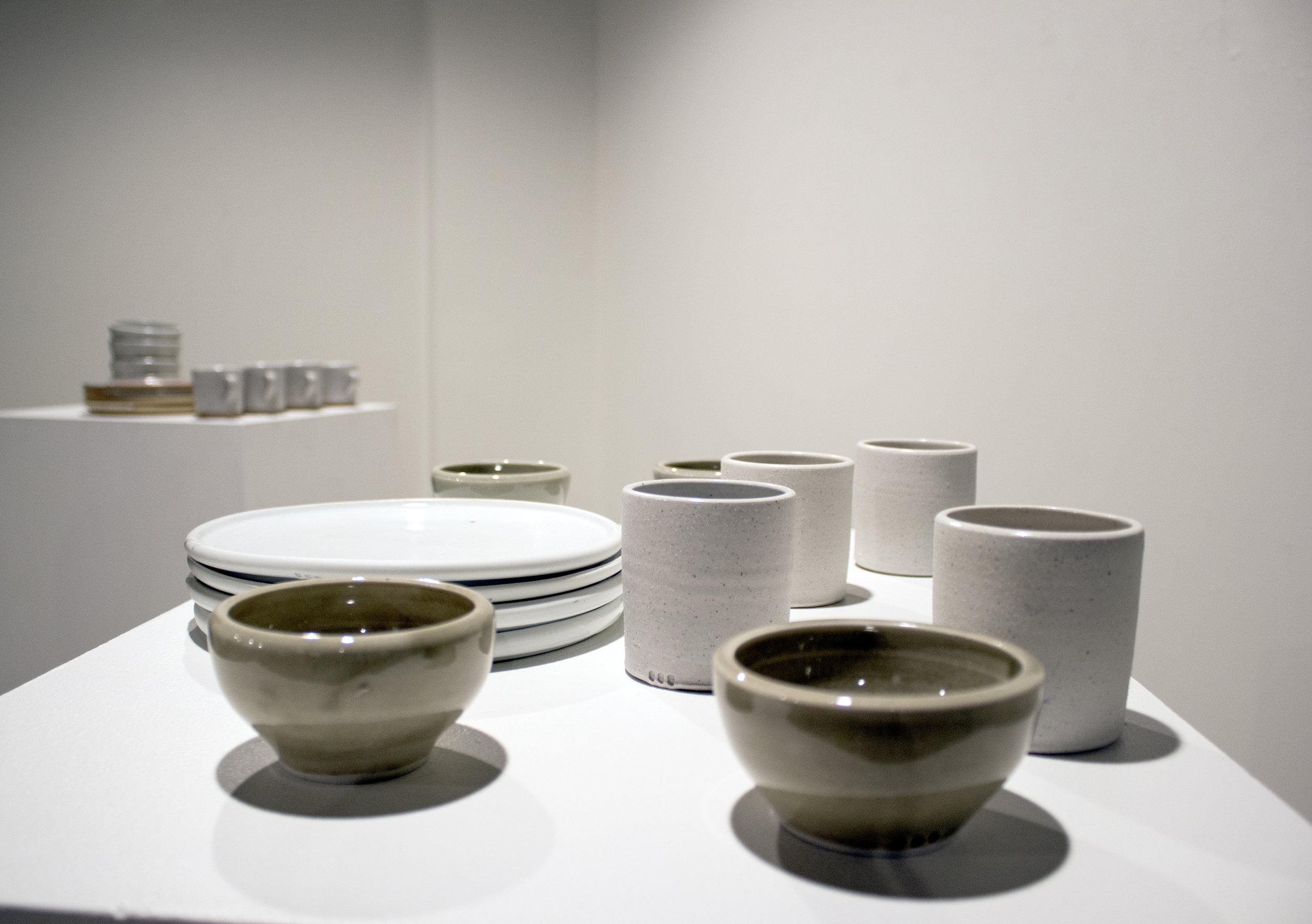 Stone and Porcelain Wares   Hilary McCandless-Beard, Proprietor of McBeard Ceramics