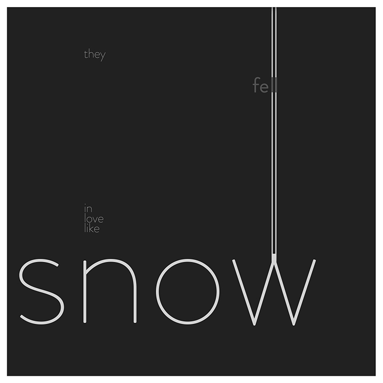 In Love Like Snow. Available in vinyl.