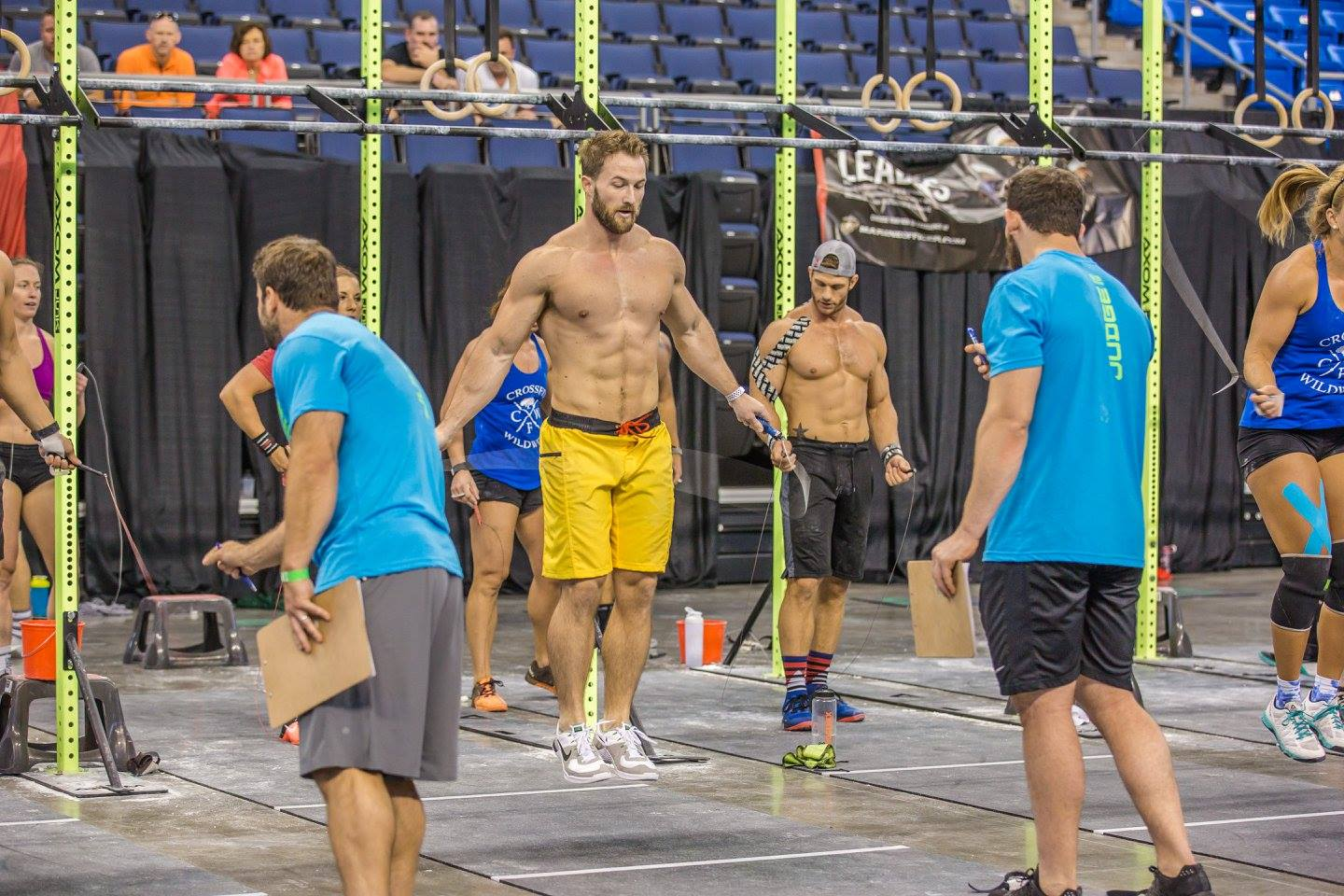 """Chris Harbison   I started doing CrossFit as my """"cardio"""" for my regular weightlifting. However, after about a week of doing CrossFit I stopped doing my regular workout routine and focused only on CrossFit. To say I'm addicted would be an understatement  To learn more about Chris,  click here!"""