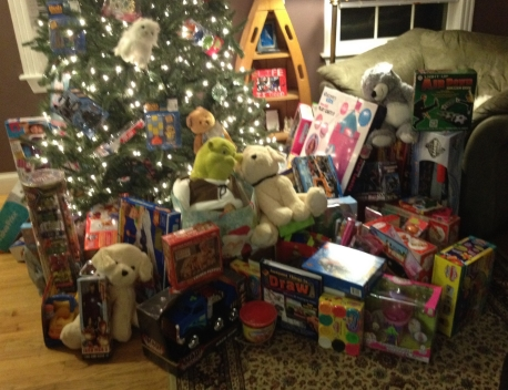 1st Annual Toy for Cookies Swap