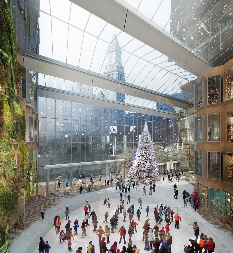 BOSTON HARBOR    architect: KPF , nyc