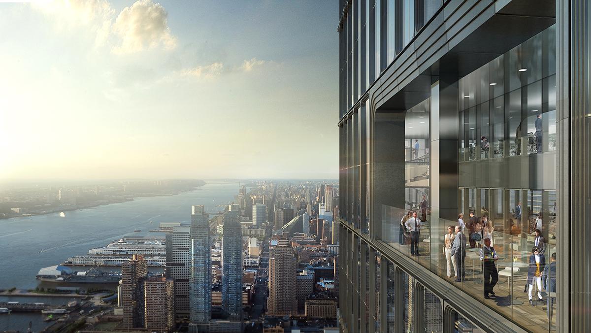 HUDSON YARD NYC  architect: KPF , nyc
