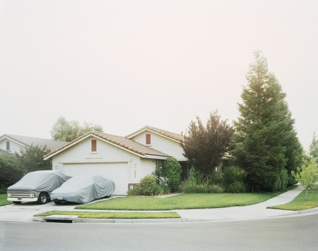 Covered Cars , 2008; archival pigment print on rag paper; 36 x 46 in. Courtesy of the Artist.