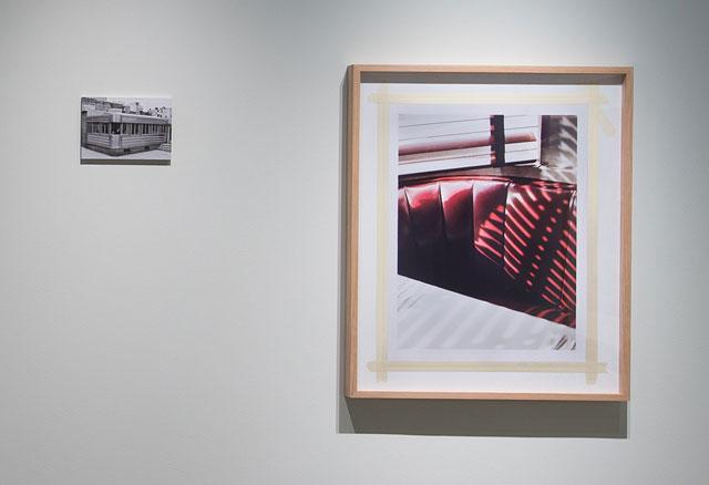 Viktoria Binschtok,  World of Details  (diner seat + diner), 2012, installation shot; Courtesy Pier 24 Photography